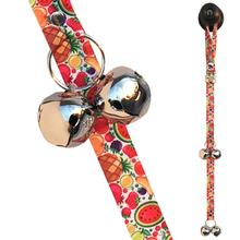 Poochie Bells Fashionable Dog Doorbell - Fruit Salad