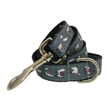 Poochie Bells Animal Kingdom Dog Leash - Llamas