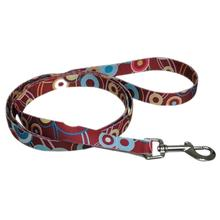 Pop Circle 5' Dog Leash - Rust