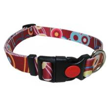 Pop Circle Dog Collar - Rust
