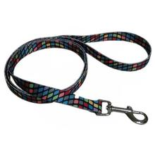 Pop Square 5' Dog Leash - Black