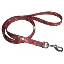 Pop Square 5' Dog Leash - Orange