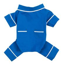Poplin Dog Pajamas by fabdog® - Blue