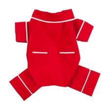 fabdog® Poplin Dog Pajamas - Red