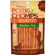 Pork Chomps Roasted Mini Twists Dog Treats