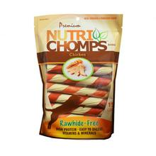 Nutri Chomps Twists Wrap Dog Treats - Chicken