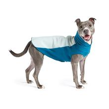 Portland Pullover Dog Jacket - Glacier and Marine Blue