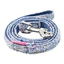 Posh Dog Leash by Pinkaholic - Blue