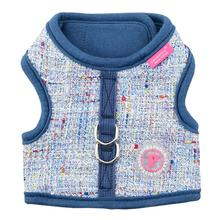 Posh Pinka Dog Harness by Pinkaholic - Blue