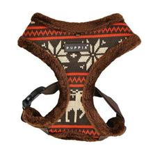 Prancer Basic Style Dog Harness by Puppia - Brown