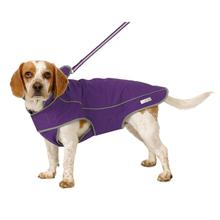 Precision Fit Dog Parka - Purple