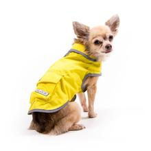 Precision Fit Dog Rain Slicker by My Canine Kids - Yellow