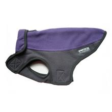 Precision Fit Sport Fleece Dog Coat by My Canine Kids - Purple/Gray