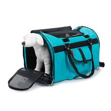 Prefer Pets Hideaway Duffel Dog Carrier - Aqua