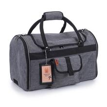 Prefer Pets Hideaway Duffel Dog Carrier - Heather Gray