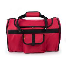 Prefer Pets Hideaway Duffel Pet Carrier - Burgundy