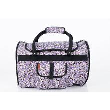 Prefer Pets Hideaway Duffel Dog Carrier - Purple Mosaic