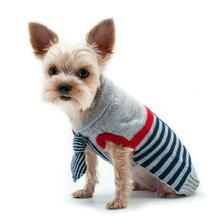Preppy Necktie Dog Sweater by Dogo