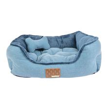 Presley Dog Bed By Puppia - Blue