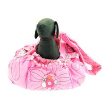 Pretty in Pink Sling Dog Carrier by Cha-Cha Couture