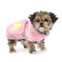 Pretty Paws Fleece Dog Jacket by Cha-Cha Couture