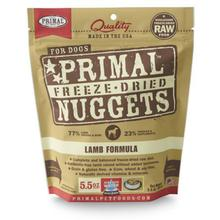 Primal Canine Freeze Dried Nuggets Dog Treats - Lamb