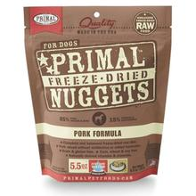 Primal Canine Freeze Dried Nuggets Dog Treats - Pork