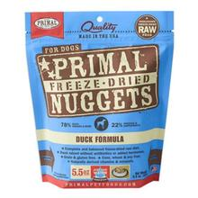 Primal Canine Freeze Dried Nuggets Dog Treat - Duck
