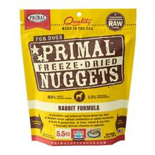 Primal Canine Freeze Dried Nuggets Dog Treats - Rabbit