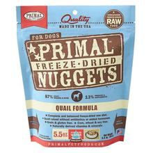Primal Canine Freeze Dried Nuggets Dog Treat - Quail