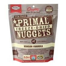 Primal Canine Freeze Dried Nuggets Dog Treat - Venison
