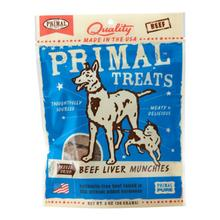 Primal Freeze Dried Pet Treats - Beef Liver Munchies