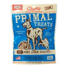 Primal Freeze Dried Pet Treats - Pork Liver Munchies