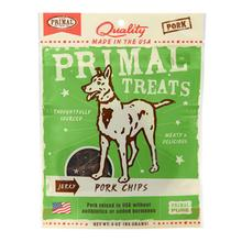 Primal Jerky Dog Treat - Pork Chips