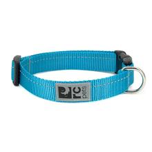 Primary Clip Dog Collar - Cyan
