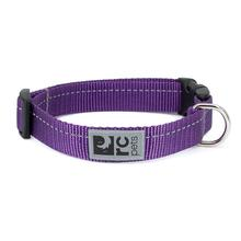 Primary Clip Dog Collar - Purple