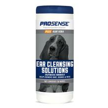 ProSense Plus Ear Cleansing Solutions Enzymatic Formula Dog Wipes