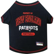 Property Of New England Patriots Dog T-Shirt