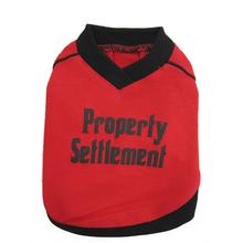 Property Settlement Dog T-Shirt