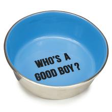 Proselect Chitchat Stainless Dog Bowl - Blue