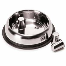ProSelect Stainless Steel Slow Feed Dog Bowl