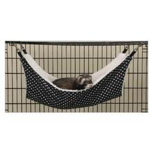 ProSelect Polka Dot Cage Hammock Cat Bed - Black
