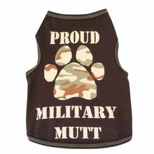 Proud Military Mutt Dog Tank