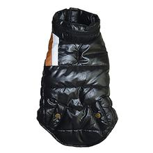The Puffer Ski Dog Vest - Black