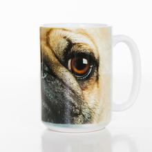 Pug Face Ceramic Mug by The Mountain