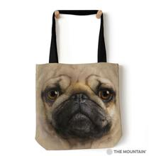 Pug Face Tote Bag by The Mountain
