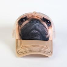 Pug Face Trucker Hat by The Mountain