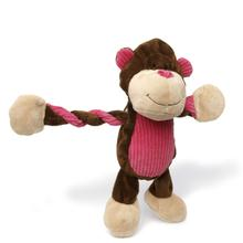 Charming Pet Pulleez Monkey Dog Toy