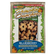 Pumpkin Crunchers Dog Treat - Blueberry