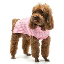 PuppyPAWer Basic Turtleneck Dog Sweater - Pink